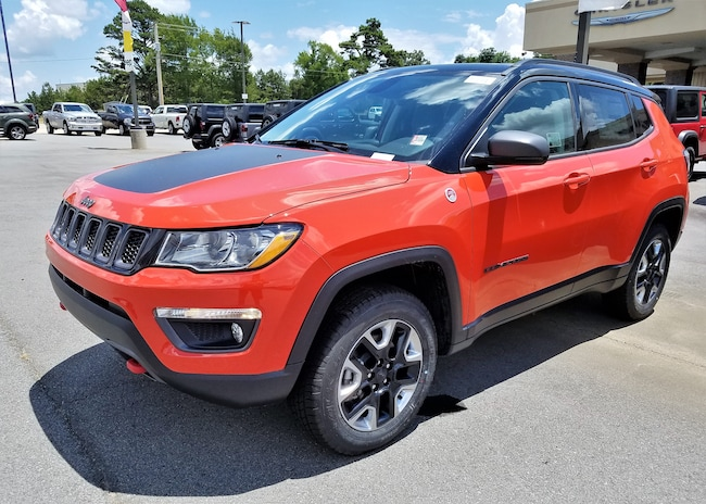 New vehicle 2018 Jeep Compass TRAILHAWK 4X4 Sport Utility For sale near you in Morrilton, AR