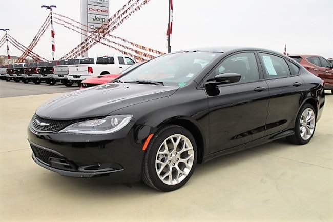used 2015 chrysler 200 s for sale morrilton ar. Black Bedroom Furniture Sets. Home Design Ideas