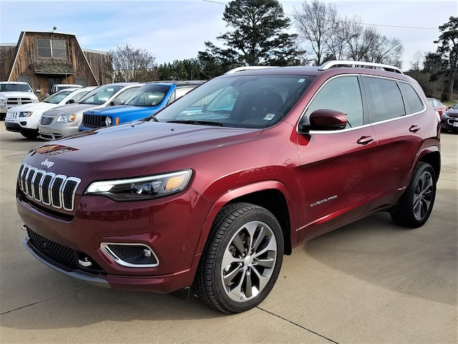 Certified pre-owned 2019 Jeep Cherokee Overland 4x4 SUV for sale in Morrilton, AR