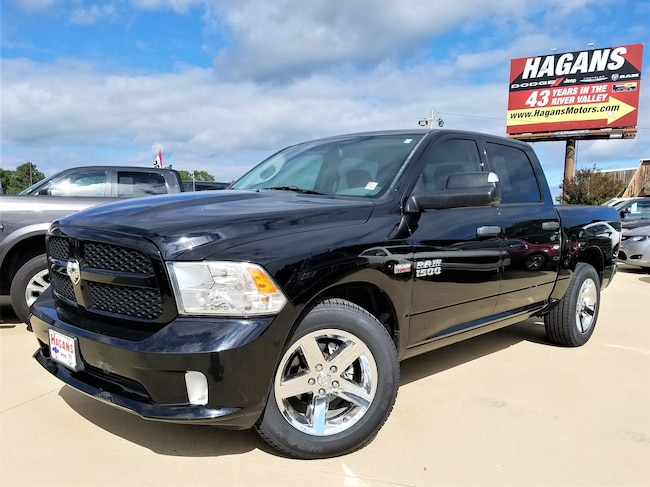 Certified pre-owned 2014 Ram 1500 Tradesman/Express Truck Crew Cab for sale in Morrilton, AR