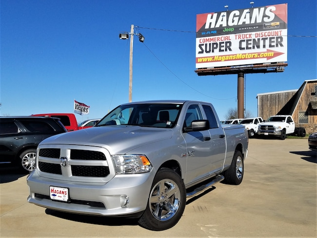 Certified pre-owned 2015 Ram 1500 Tradesman/Express Truck Quad Cab for sale in Morrilton, AR