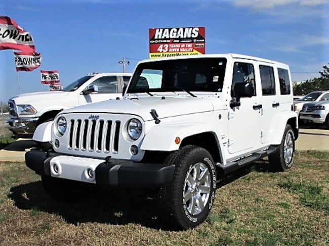Certified pre-owned 2016 Jeep Wrangler JK Unlimited Sahara 4x4 SUV for sale in Morrilton, AR