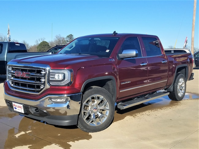 Used vehicle 2016 GMC Sierra 1500 SLT Truck Crew Cab for sale near you in Morrilton, AR