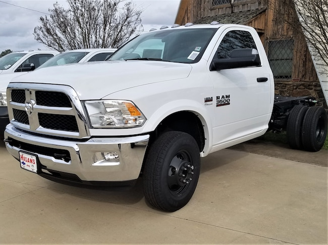 New vehicle 2018 Ram 3500 TRADESMAN CHASSIS REGULAR CAB 4X4 143.5 WB Regular Cab For sale near you in Morrilton, AR