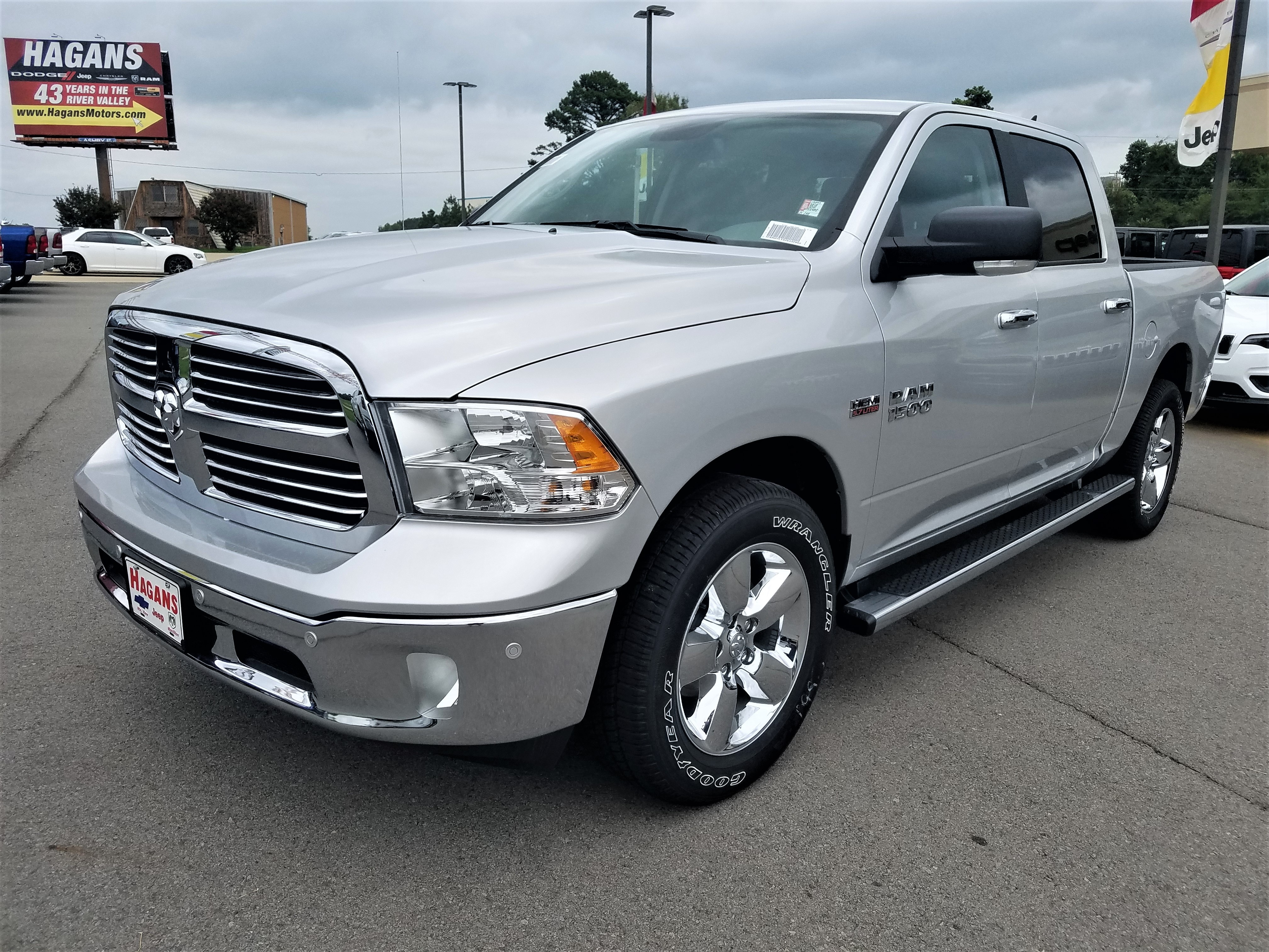 Featured New 2018 Ram 1500 BIG HORN CREW CAB 4X4 5'7 BOX Crew Cab for sale near you in Morrilton, AR