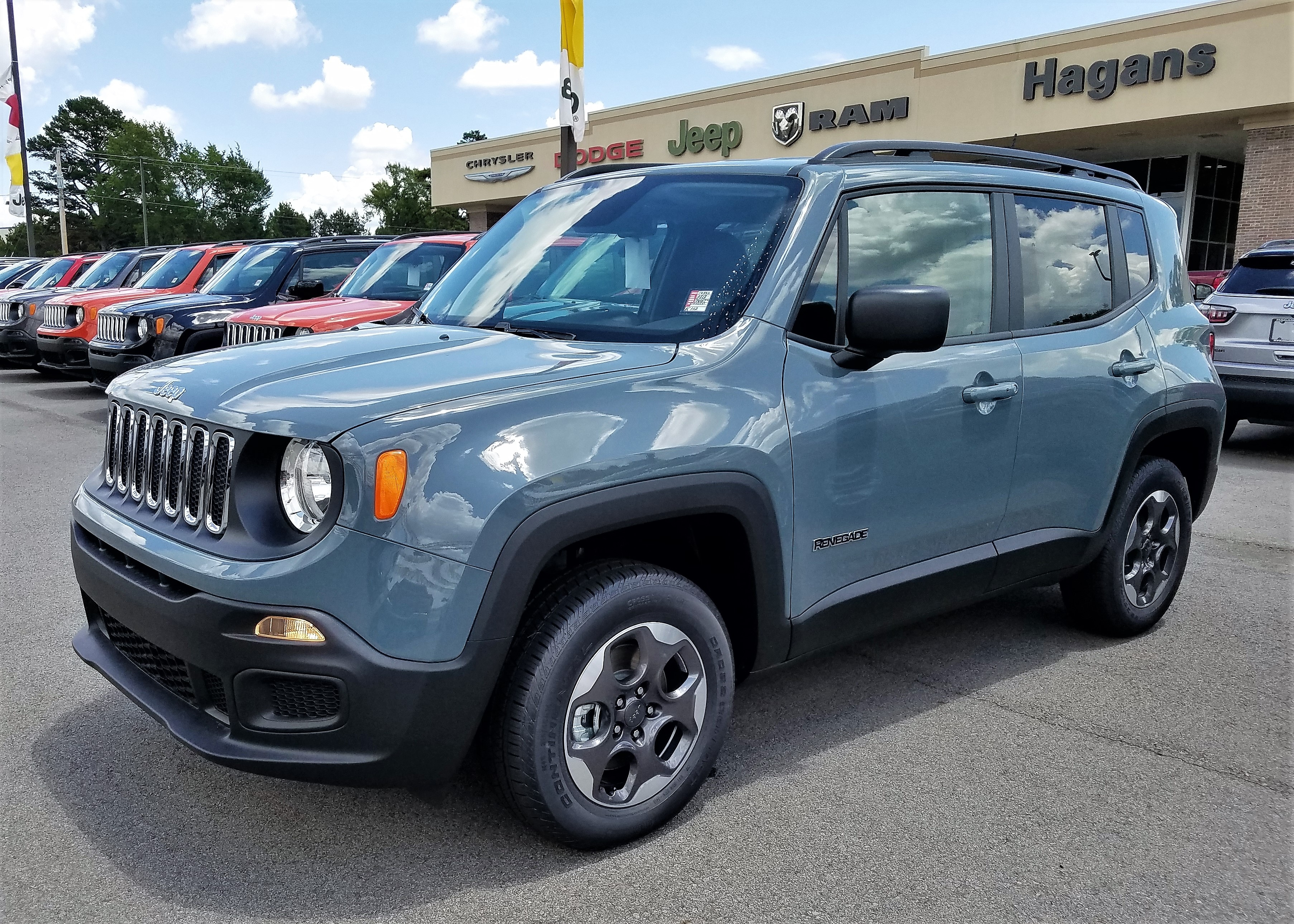 Featured New 2018 Jeep Renegade SPORT 4X4 Sport Utility for sale near you in Morrilton, AR