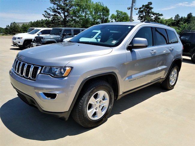 Certified pre-owned 2017 Jeep Grand Cherokee Laredo 4x4 SUV for sale in Morrilton, AR