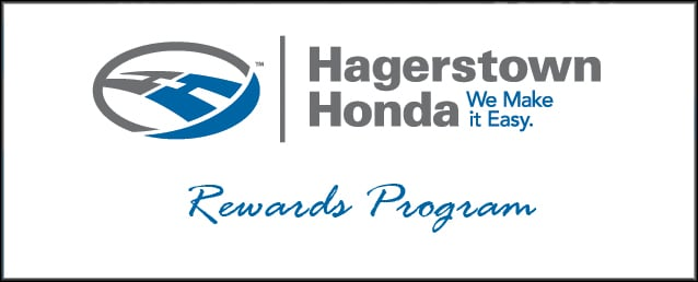 Hagerstown Honda Rewards Program | Near Frederick & berland