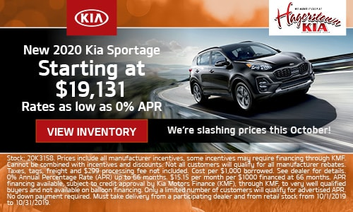 October Sportage Offers