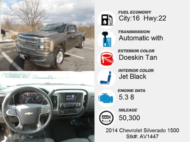 Used 2014 Chevrolet Silverado 1500 For Sale At Hagerstown Kia Vin