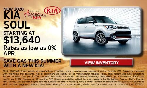August 2020 Kia Soul Offers