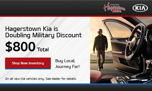 Hagerstown Kia is Doubling Military Discount