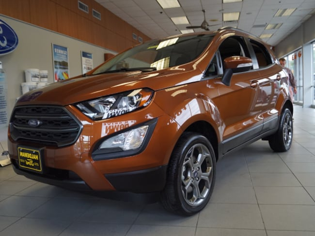 New 2018 Ford EcoSport SES Crossover for sale in East Windsor, NJ at Haldeman Ford Rt. 130