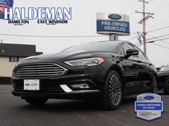 Used 2017 Ford Fusion SE Sedan 3FA6P0H96HR102378 for sale in East Windsor, NJ at Haldeman Ford Rt. 130