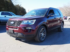 New 2019 Ford Explorer Sport SUV for sale in East Windsor, NJ at Haldeman Ford Rt. 130