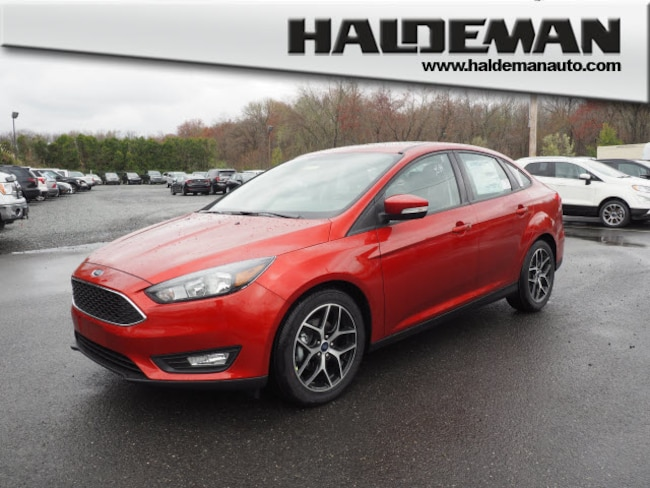 New 2018 Ford Focus SEL Sedan for sale in East Windsor, NJ at Haldeman Ford Rt. 130