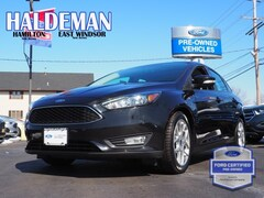 Used 2015 Ford Focus SE Sedan 1FADP3F24FL353250 for sale in East Windsor, NJ at Haldeman Ford Rt. 130