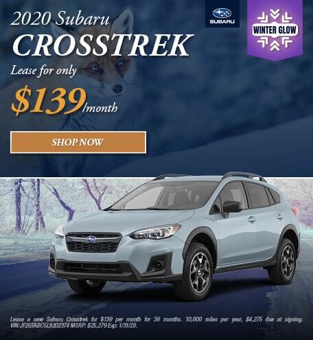 2020 Crosstrek Lease
