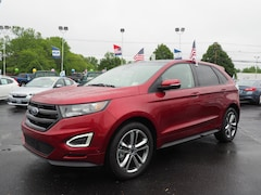 Used 2017 Ford Edge Sport AWD Sport  Crossover 2FMPK4AP1HBC34732 for sale in East Windsor, NJ at Haldeman Ford Rt. 130