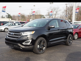 Used 2018 Ford Edge SEL AWD SEL  Crossover P75754 2FMPK4J88JBB70090 for sale in Hamilton, New Jersey at Haldeman Subaru