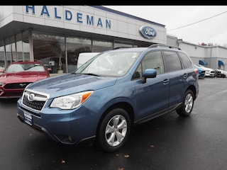 Used 2016 Subaru Forester 2.5i Premium AWD 2.5i Premium  Wagon CVT P75658 JF2SJAGC5GH472428 for sale in Hamilton, New Jersey at Haldeman Subaru