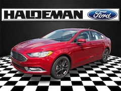 New 2018 Ford Fusion SE Sedan for sale in East Windsor, NJ at Haldeman Ford Rt. 130