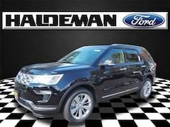 New 2019 Ford Explorer Limited SUV for sale in East Windsor, NJ at Haldeman Ford Rt. 130