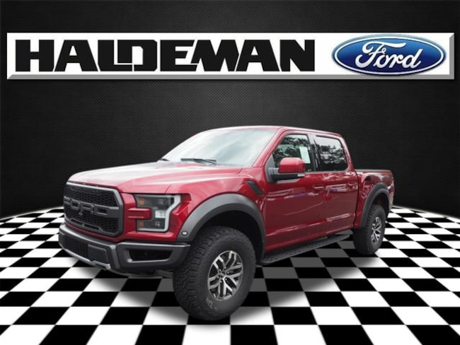 New 2018 Ford F-150 Raptor Truck for sale in East Windsor, NJ at Haldeman Ford Rt. 130