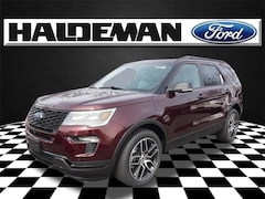 New 2019 Ford Explorer Sport SUV for sale in East Windsor, NJ at Haldeman Ford Rt. 130
