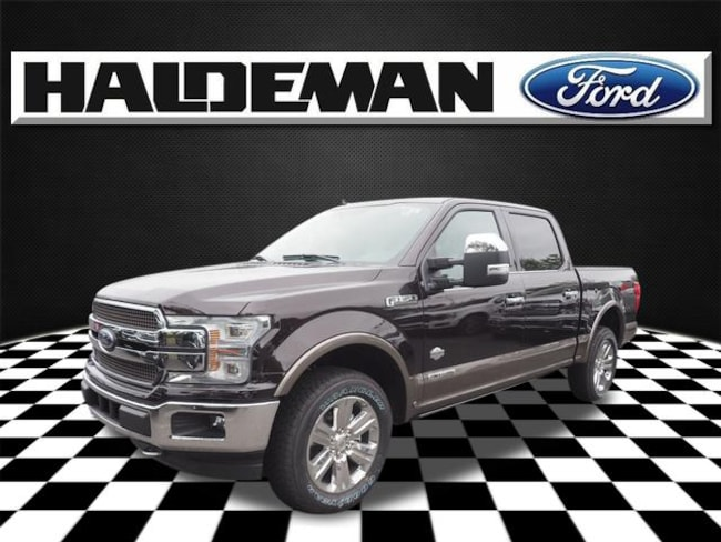 New 2018 Ford F-150 King Ranch Truck for sale in East Windsor, NJ at Haldeman Ford Rt. 130