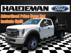 New 2019 Ford Chassis Cab F-550 XL Commercial-truck for sale in East Windsor, NJ at Haldeman Ford Rt. 130