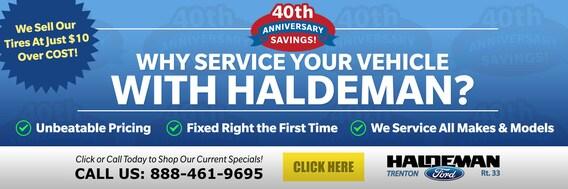 Haldeman Ford Auto Service Center