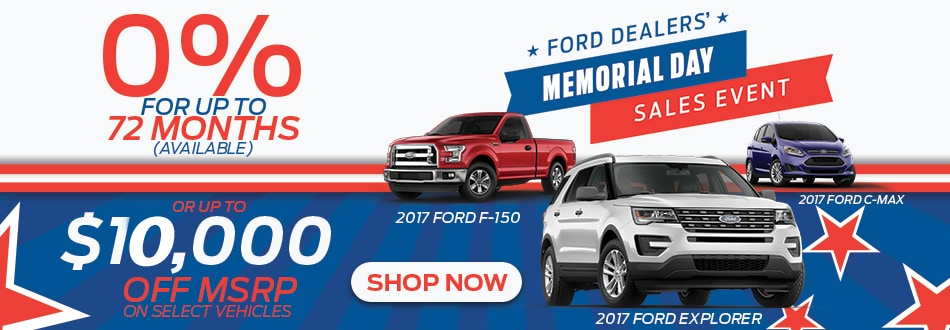 Memorial Day Car Sale >> Memorial Day Sales Event Haley Ford