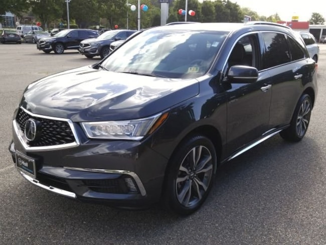 New 2019 Acura MDX with Advance Package SUV in Virginia Beach