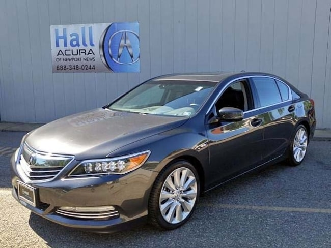 Certified Pre-Owned 2016 Acura RLX Sport Hybrid Base w/Advance Package (DCT) Sedan Newport News