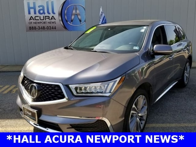 New 2018 Acura MDX V6 SH-AWD with Technology Package SUV Newport News