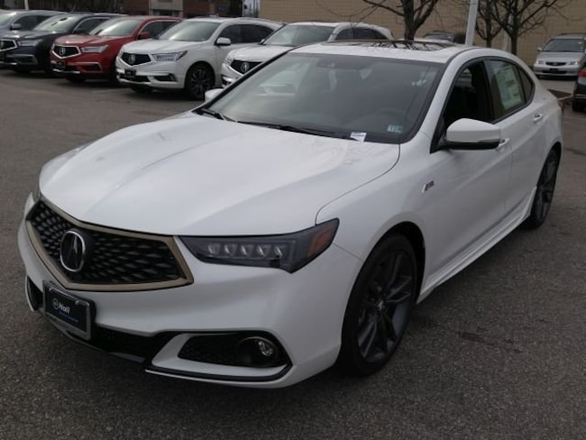 New 2019 Acura TLX 3.5 V-6 9-AT SH-AWD with A-SPEC Sedan Newport News