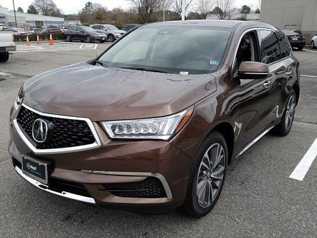New 2019 Acura MDX SH-AWD with Technology and Entertainment Packages SUV Newport News