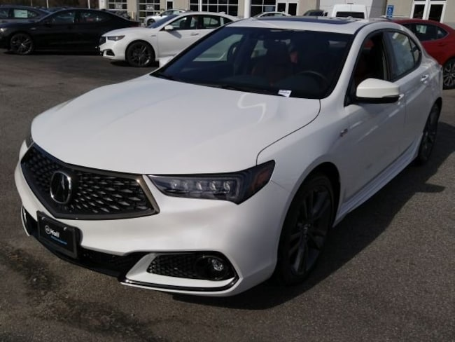 New 2019 Acura TLX 3.5 V-6 9-AT SH-AWD with A-SPEC RED Sedan in Virginia Beach