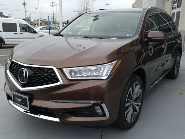 New 2019 Acura MDX SH-AWD with Advance Package SUV in Virginia Beach