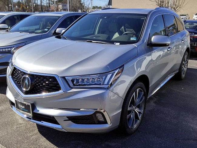 New 2019 Acura MDX with Advance and Entertainment Packages SUV in Virginia Beach