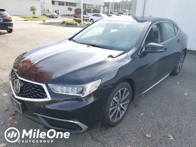 New 2018 Acura TLX 3.5 V-6 9-AT P-AWS with Technology Package Sedan in Virginia Beach