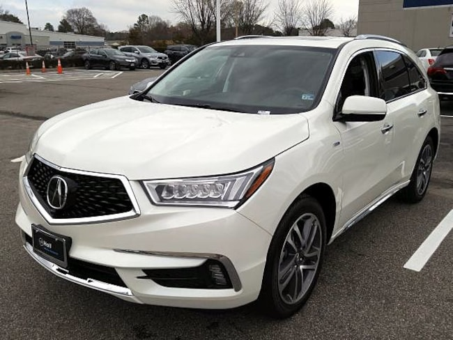 New 2019 Acura MDX Sport Hybrid SH-AWD with Advance Package SUV in Virginia Beach