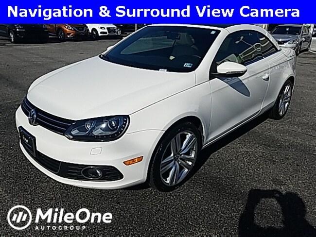 Used 2014 Volkswagen Eos Executive Edition Convertible in Virginia Beach