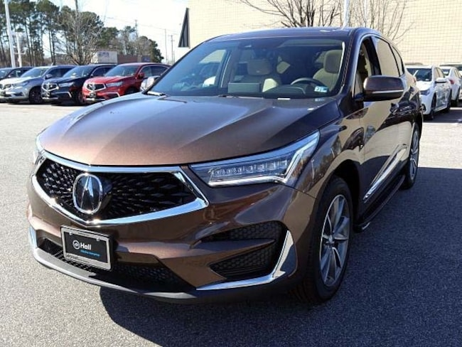 New 2019 Acura RDX SH-AWD with Technology Package SUV in Virginia Beach