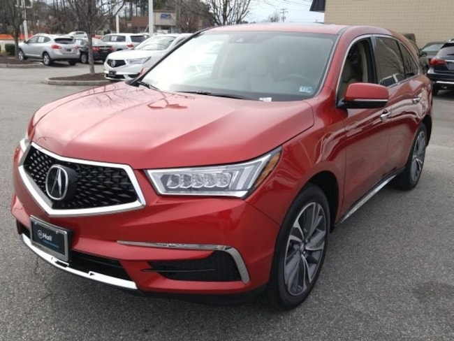 New 2019 Acura MDX SH-AWD with Technology Package SUV in Virginia Beach
