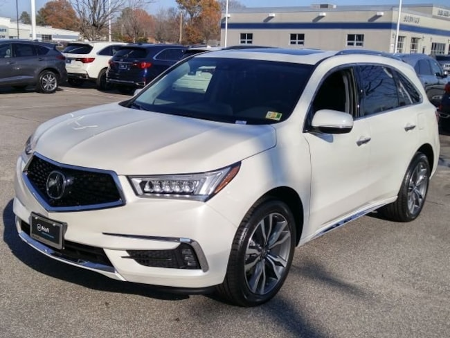New 2019 Acura MDX SH-AWD with Advance Package SUV Newport News