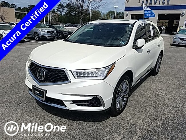 Certified Pre-Owned 2017 Acura MDX 3.5L SUV in Virginia Beach