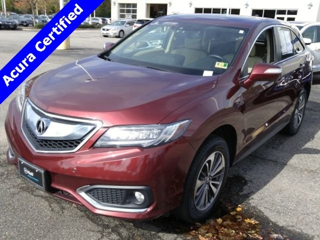Certified Pre-Owned 2017 Acura RDX Advance Package SUV in Virginia Beach