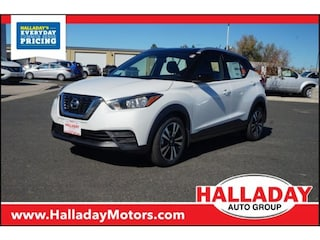 New 2018 Nissan Kicks SV SUV N537010 in Cheyenne, WY
